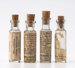Some homeopathy vials