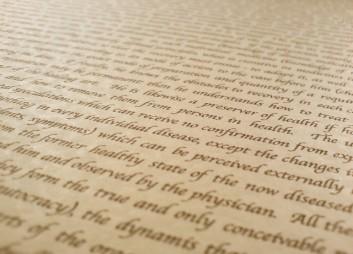 A script
